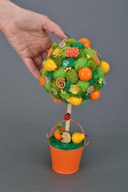 топиарии из фруктов картинки удобное для