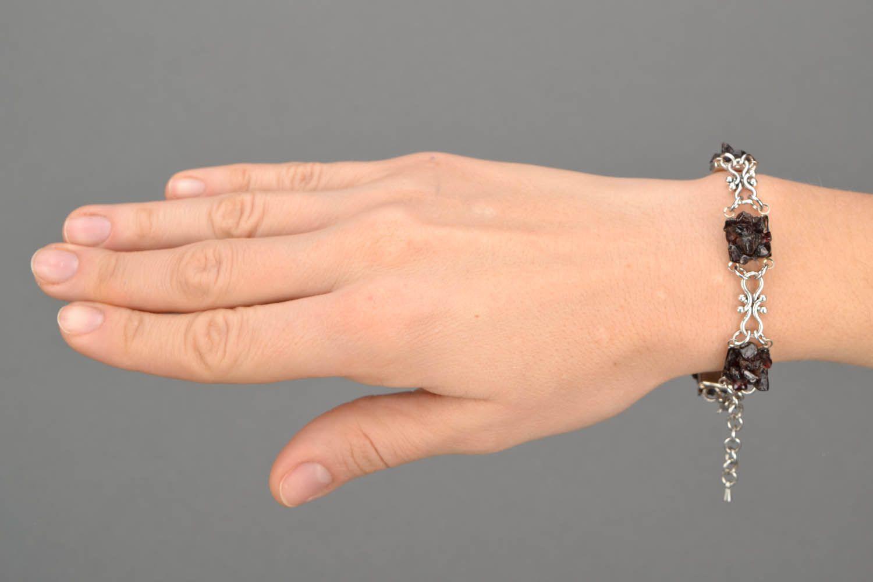 Bracelet with garnet photo 2