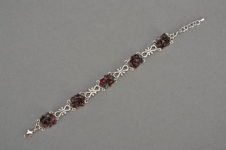 Bracelet with garnet photo 3