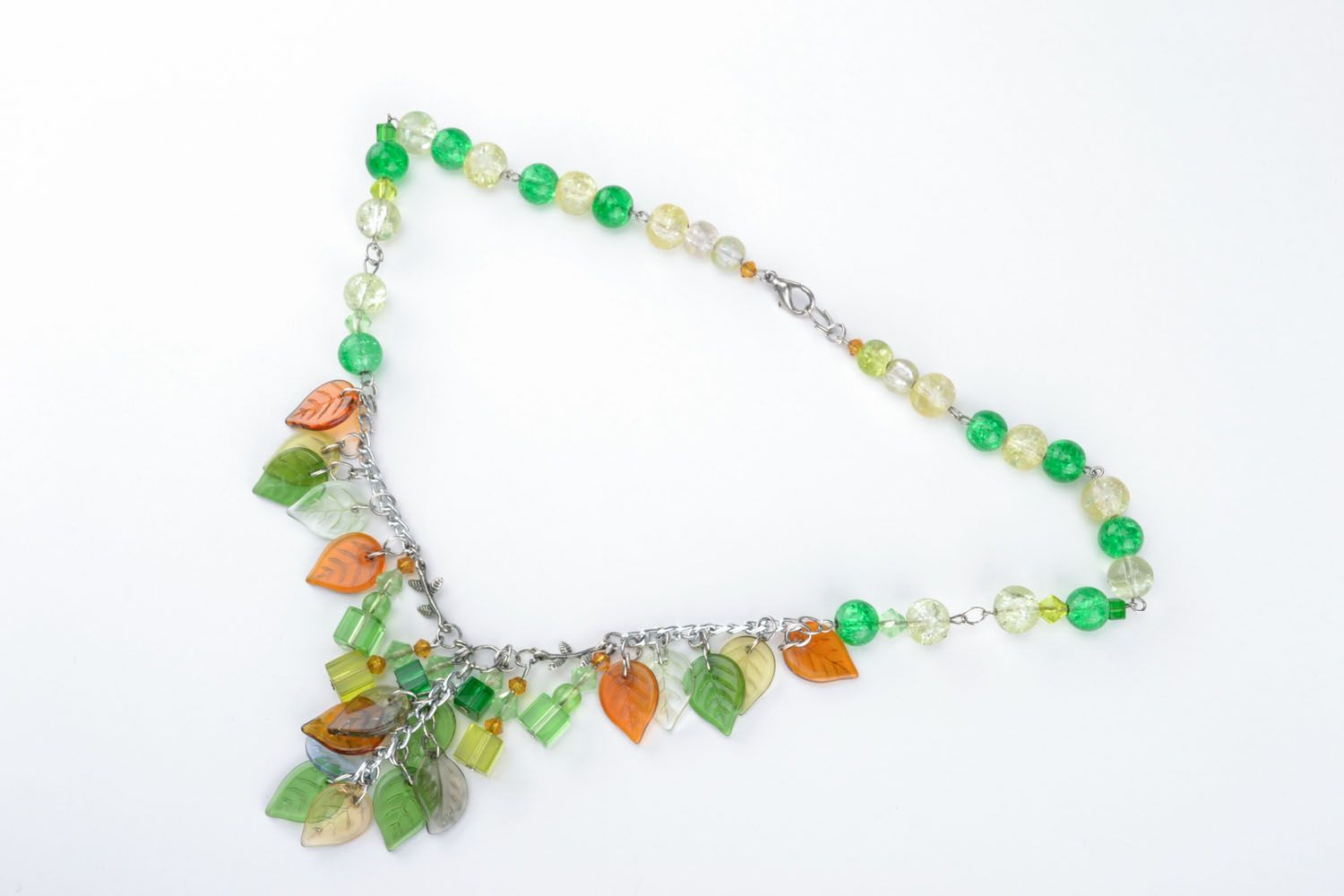 Beautiful necklace with charms photo 1