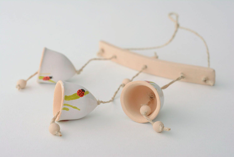 Designer ceramic bells photo 5