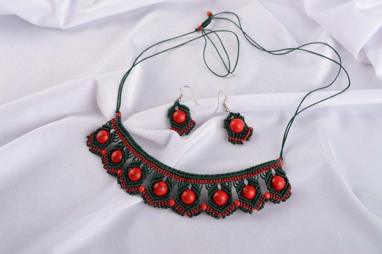 Ожерелье крючком своими руками