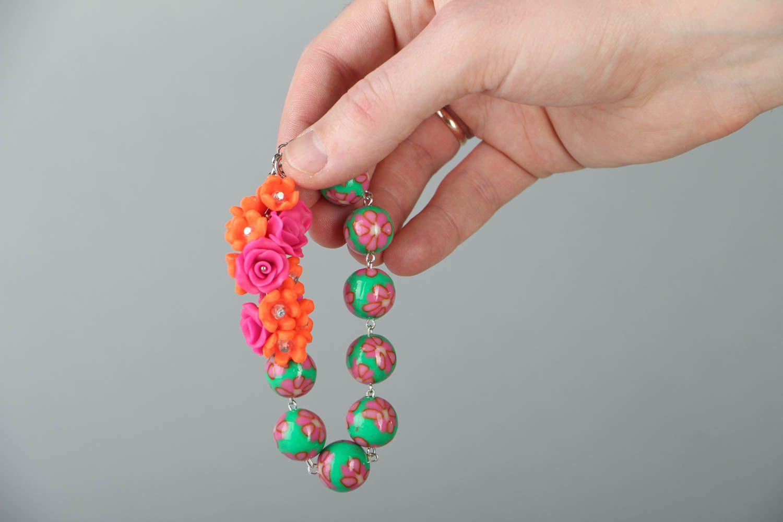 Polymer clay bracelet photo 4