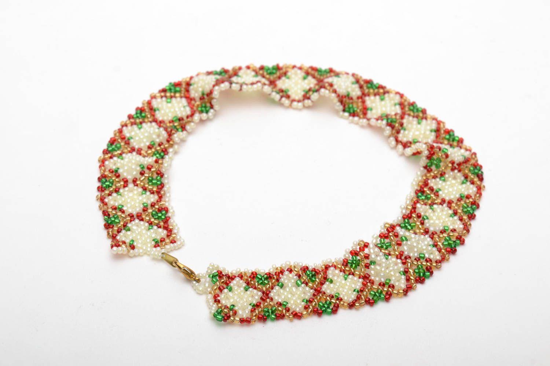 collares de abalorios Collar de abalorios en estilo ucraniano , MADEheart.com