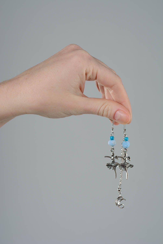 Metal cuff earrings Ballerinas photo 4