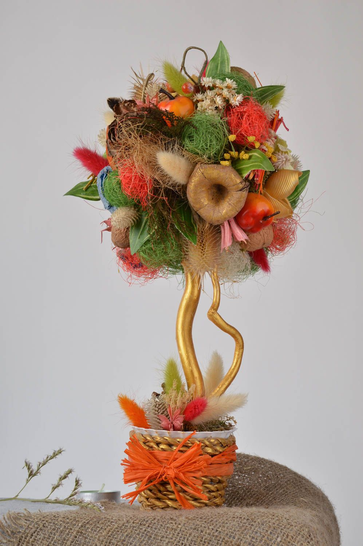 Stylish topiary handmade tree table decor housewarming gift decorative use only photo 1