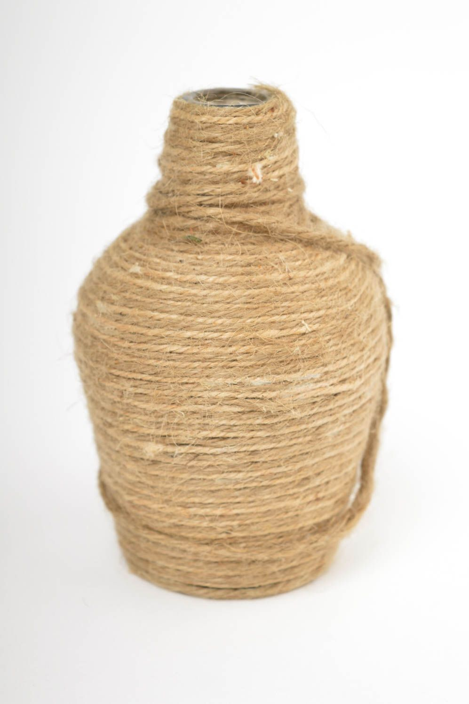 madeheart vase d coratif fait main d co maison cadeau original ficelle verre design. Black Bedroom Furniture Sets. Home Design Ideas