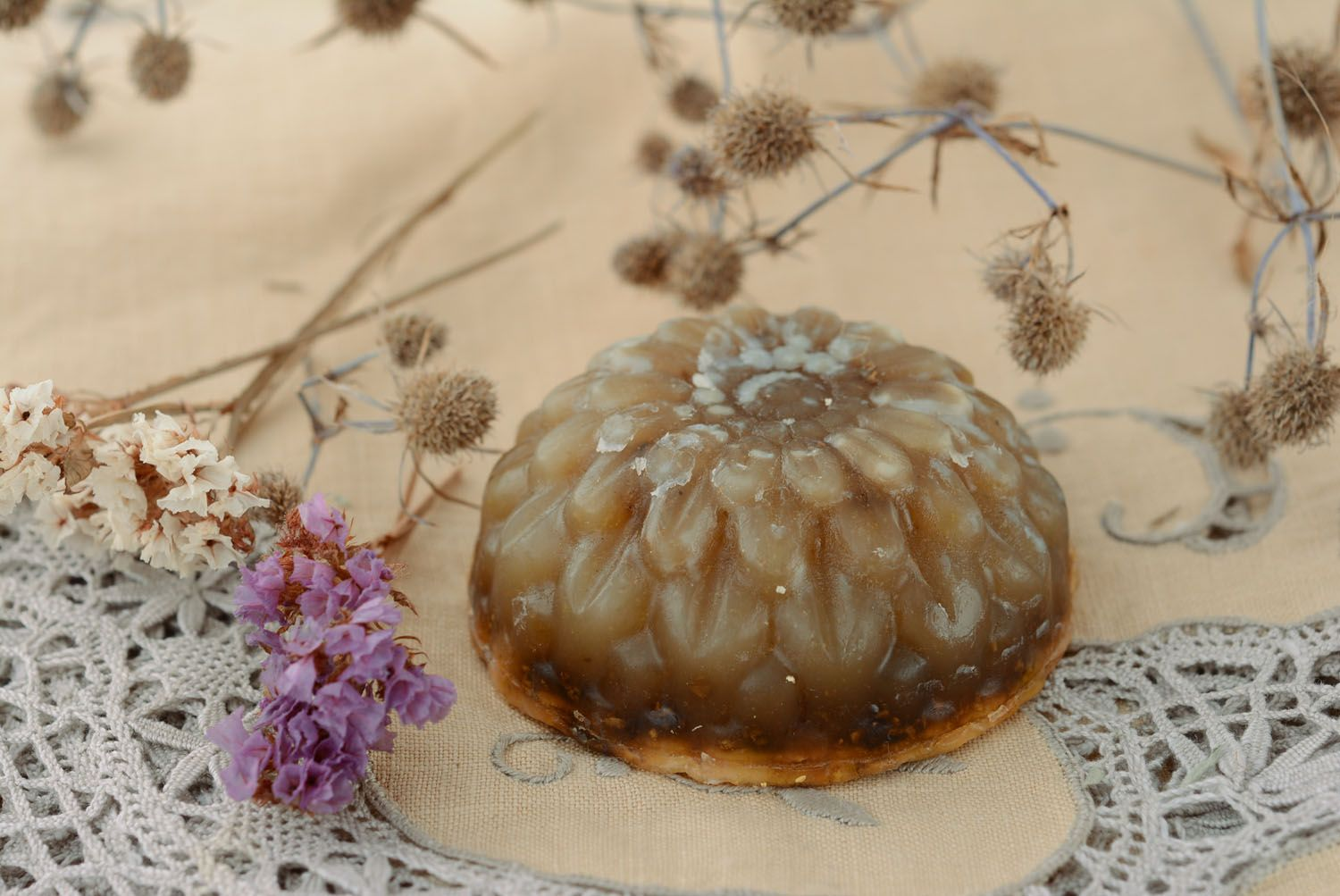 Beautiful soap with sage photo 4