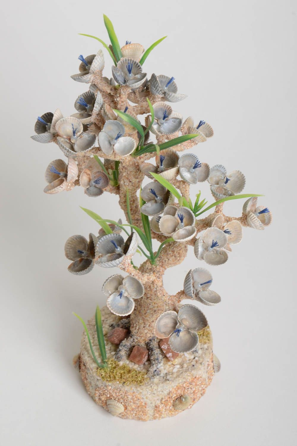 Handmade tree decoration tree composition with flowers table decor gift ideas photo 4