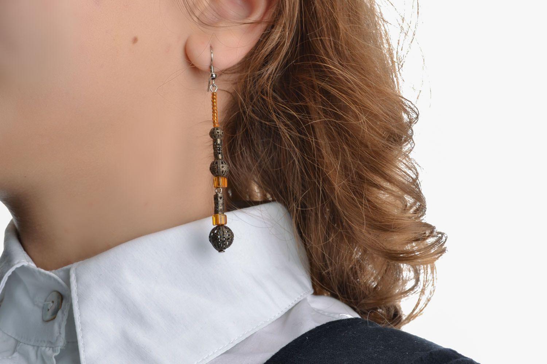 Long earrings of unusual design photo 5
