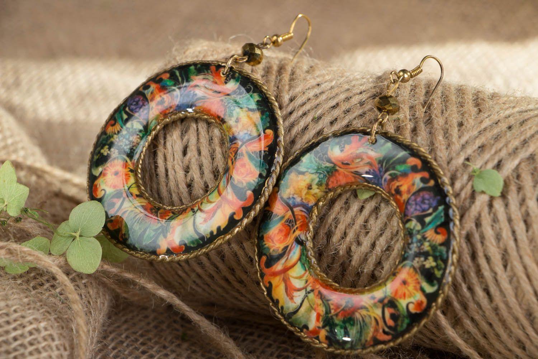 Round earrings  photo 4