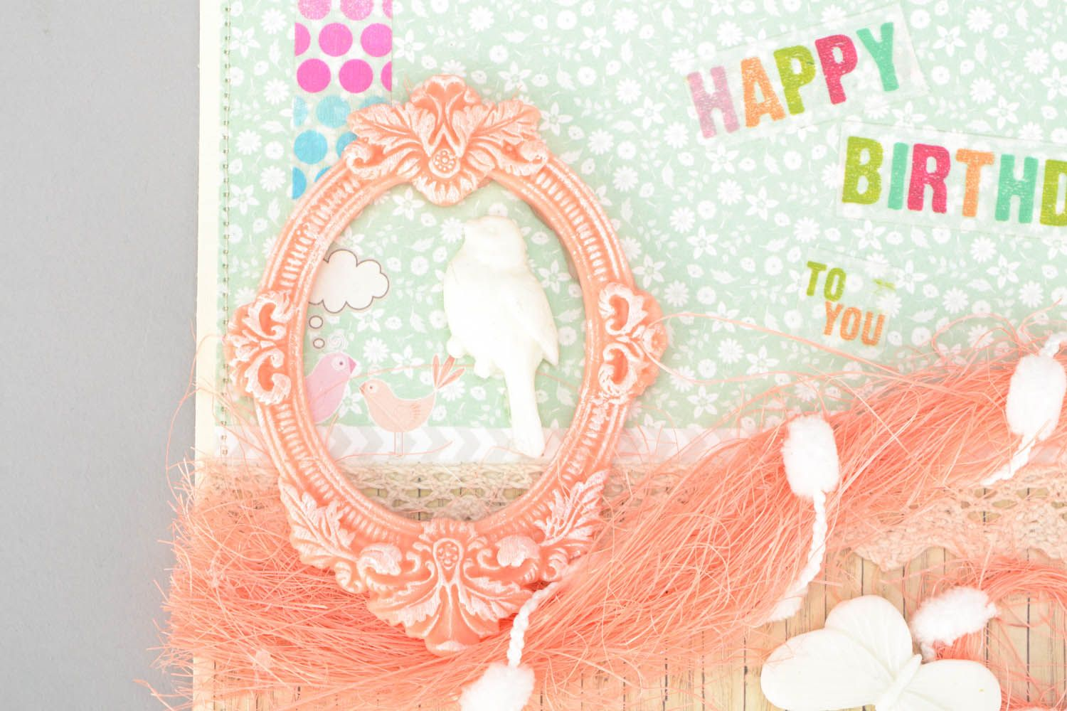 birthday Handmade greeting card
