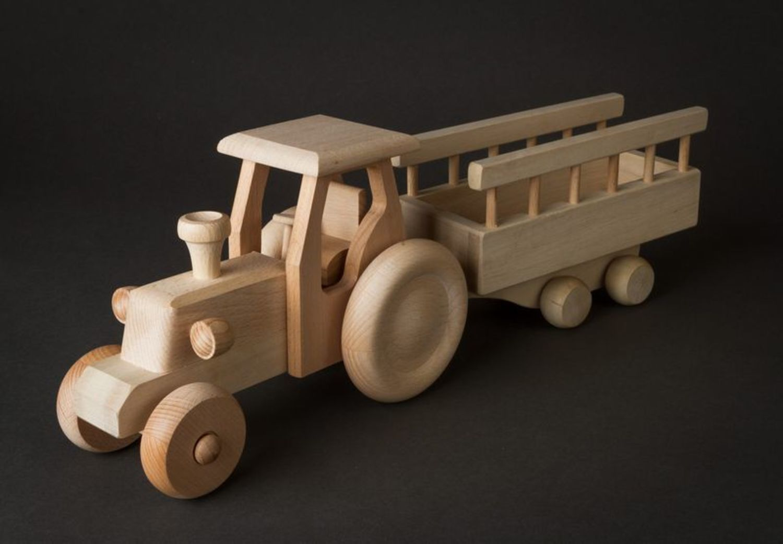 Как сделать трактор игрушечный фото 485