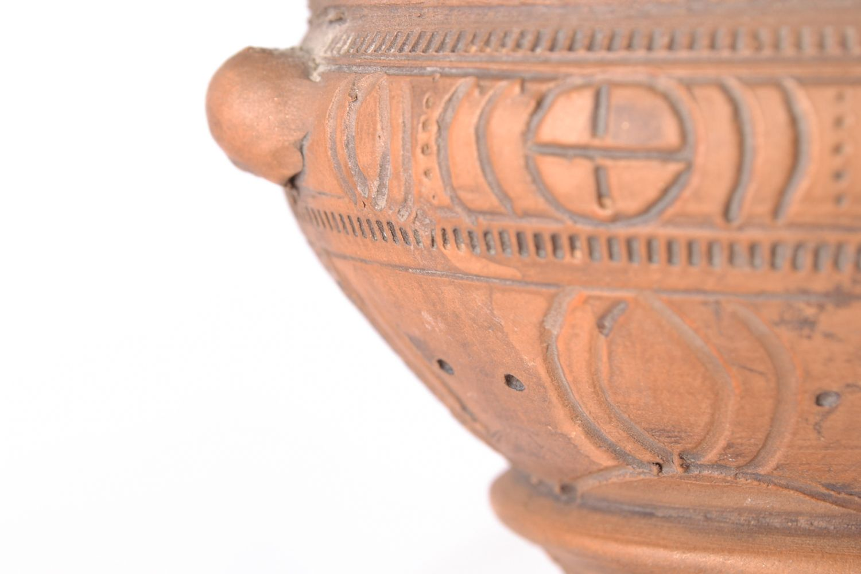 Handmade ceramic aroma lamp photo 3