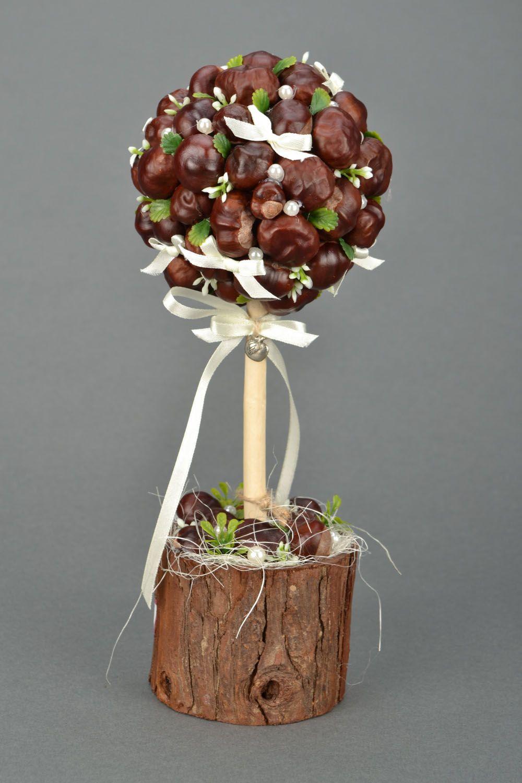 Homemade topiary Chestnuts photo 5