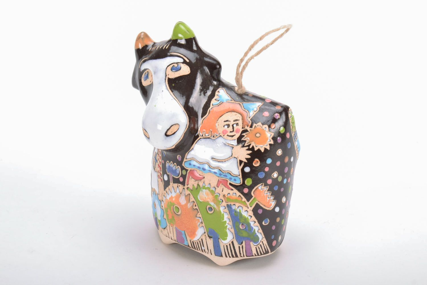 Decorative bell Cow photo 2