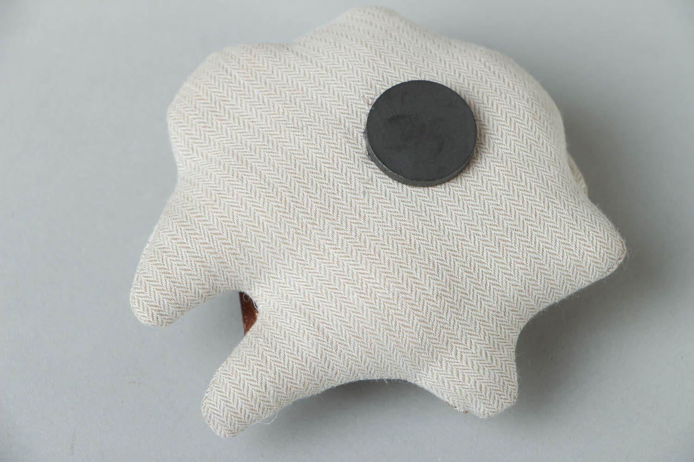 Fabric fridge magnet Lamb photo 3