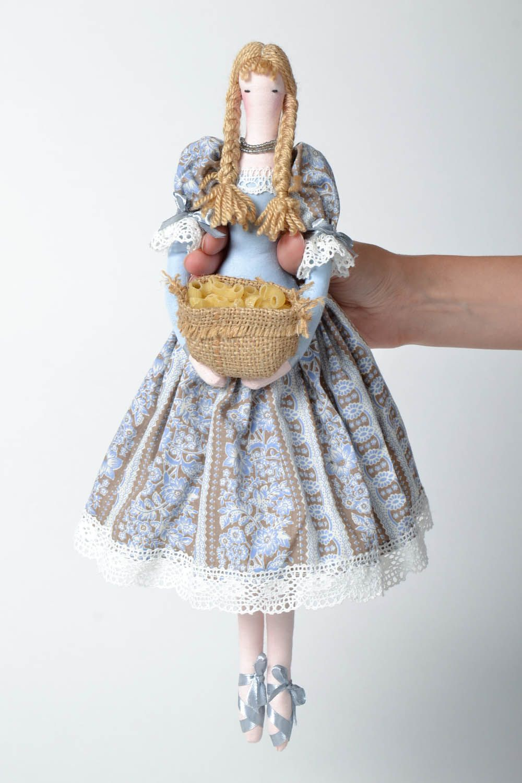Textile interior doll  photo 4