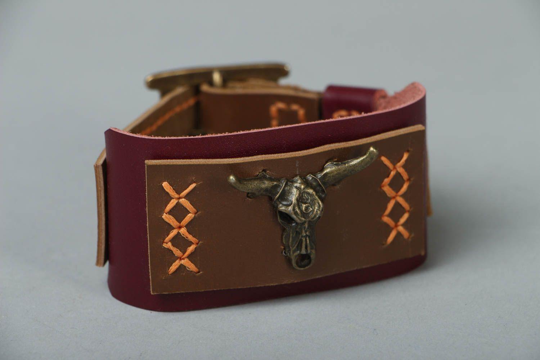 Leather bracelet Wild West photo 1