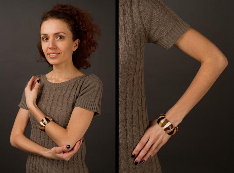 Wooden bracelet photo 2