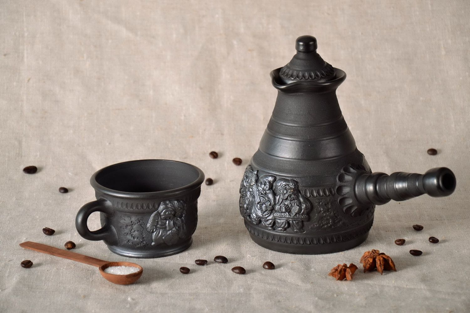 tea pots and coffee pots Ceramic turk for coffee - MADEheart.com