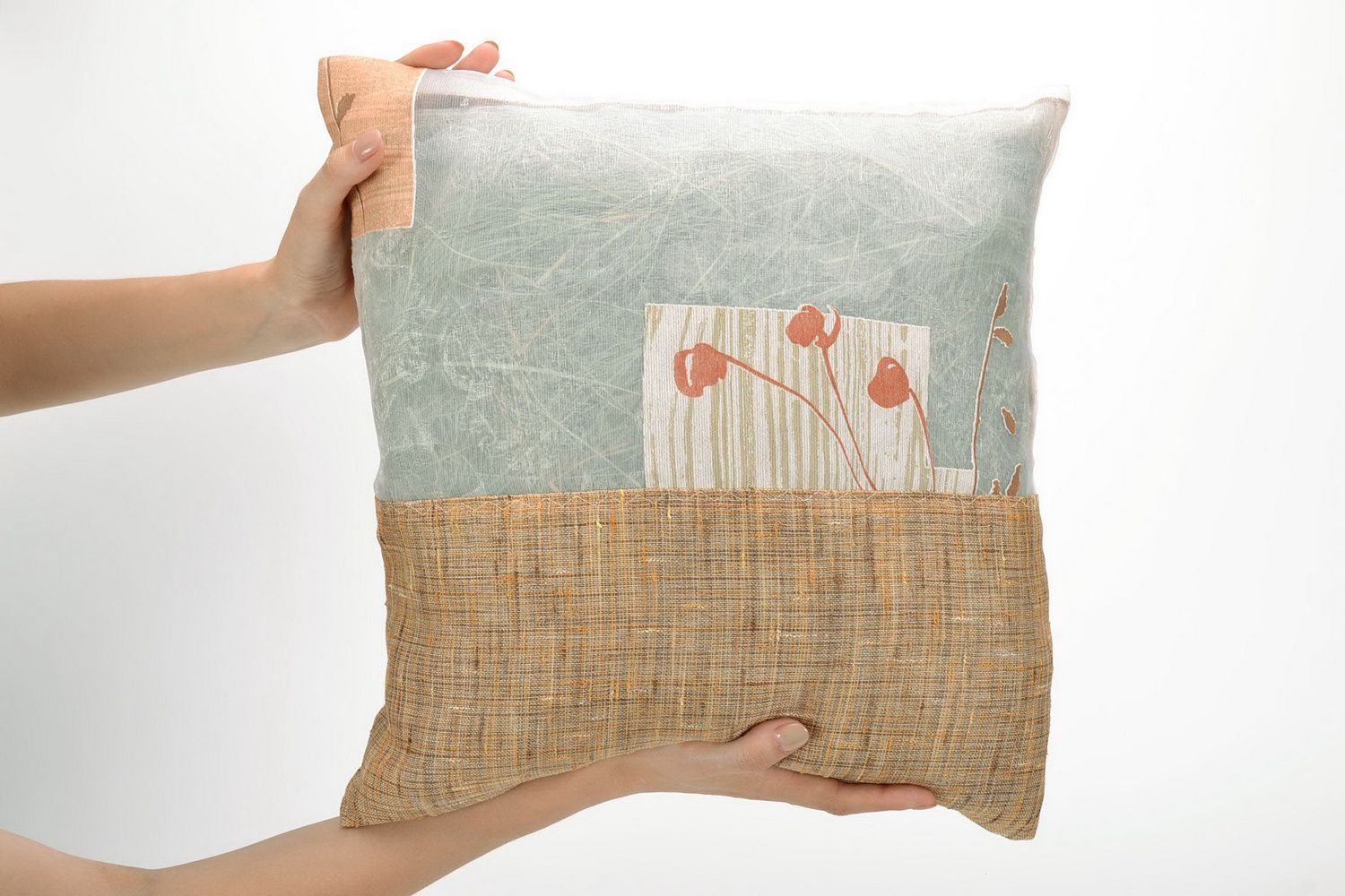 Pillow with herbs photo 5