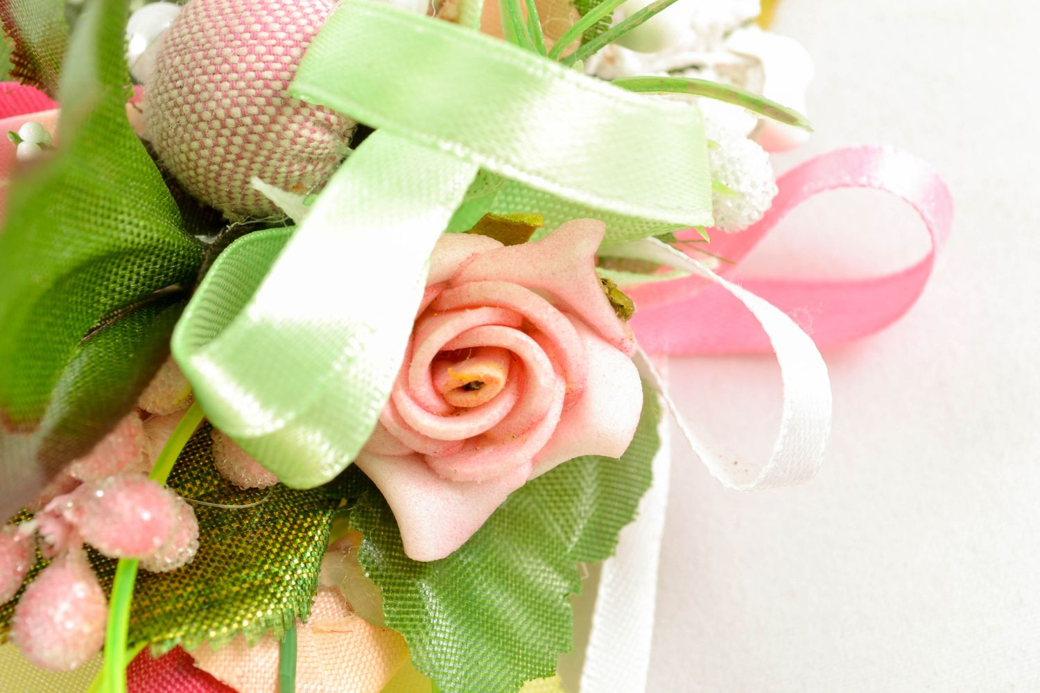 easter decor Boutonniere for Easter basket - MADEheart.com