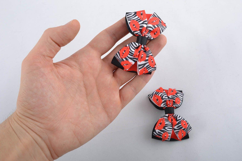 Hair ribbon bow photo 4