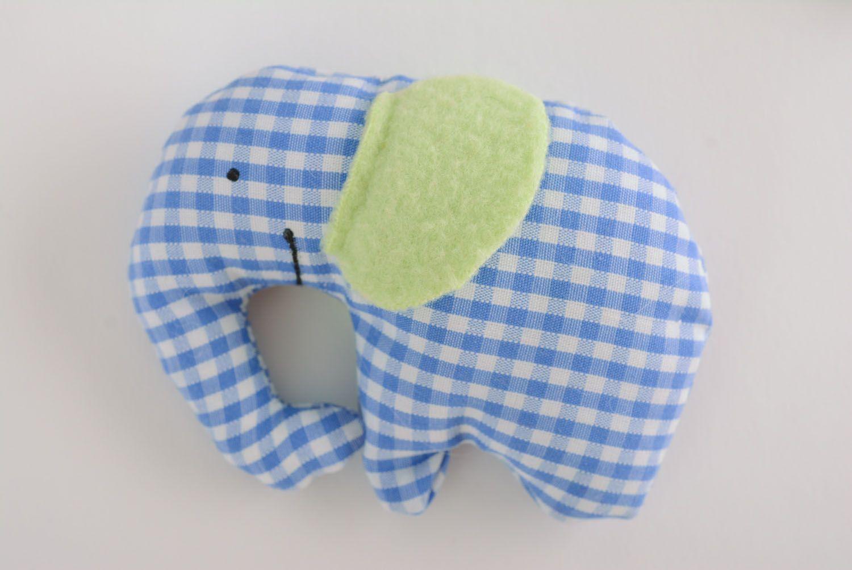 Homemade soft toy Elephant photo 1