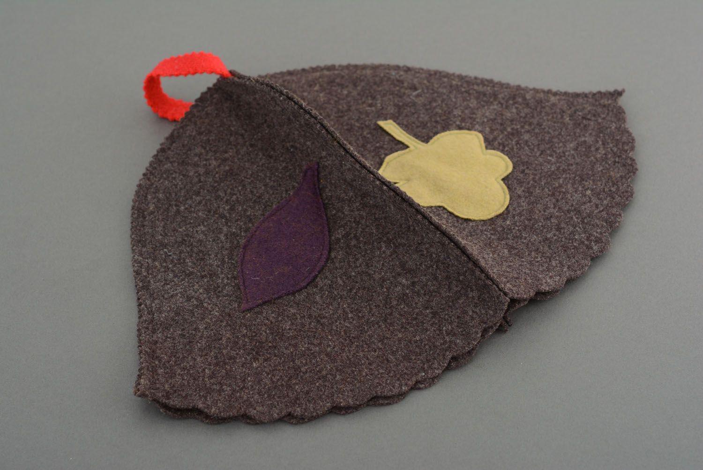 Unusual homemade steambath hat photo 4