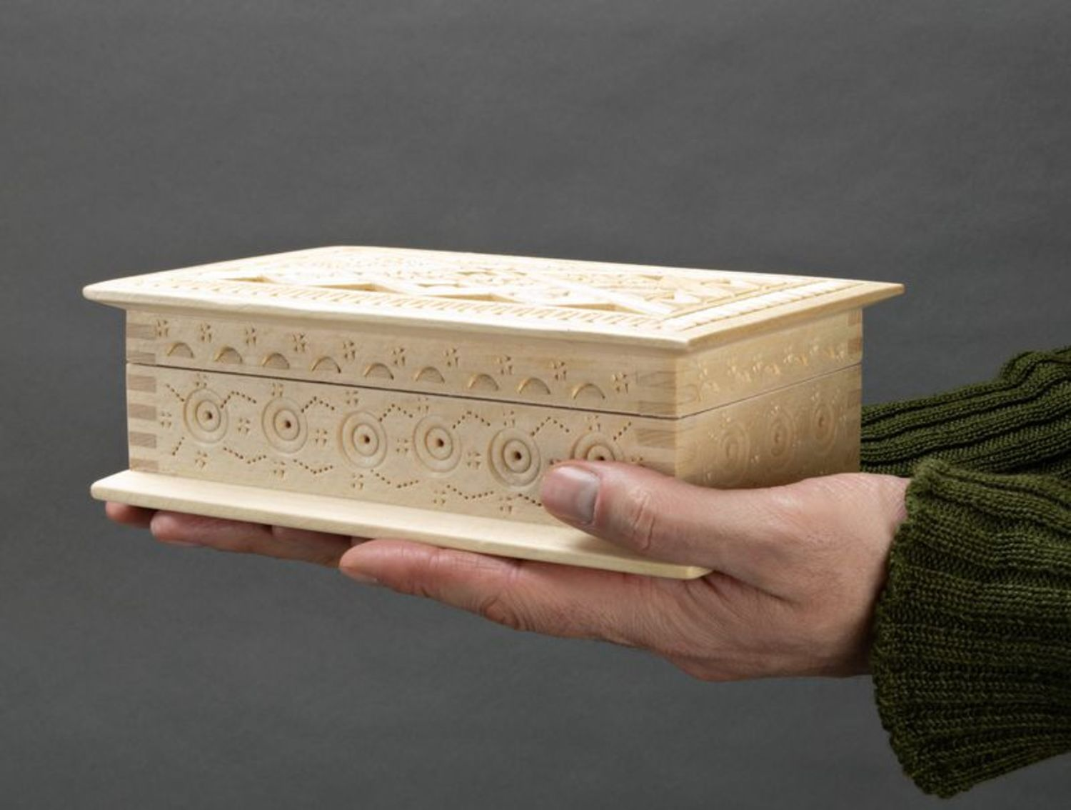 Wooden box for jewelries photo 5
