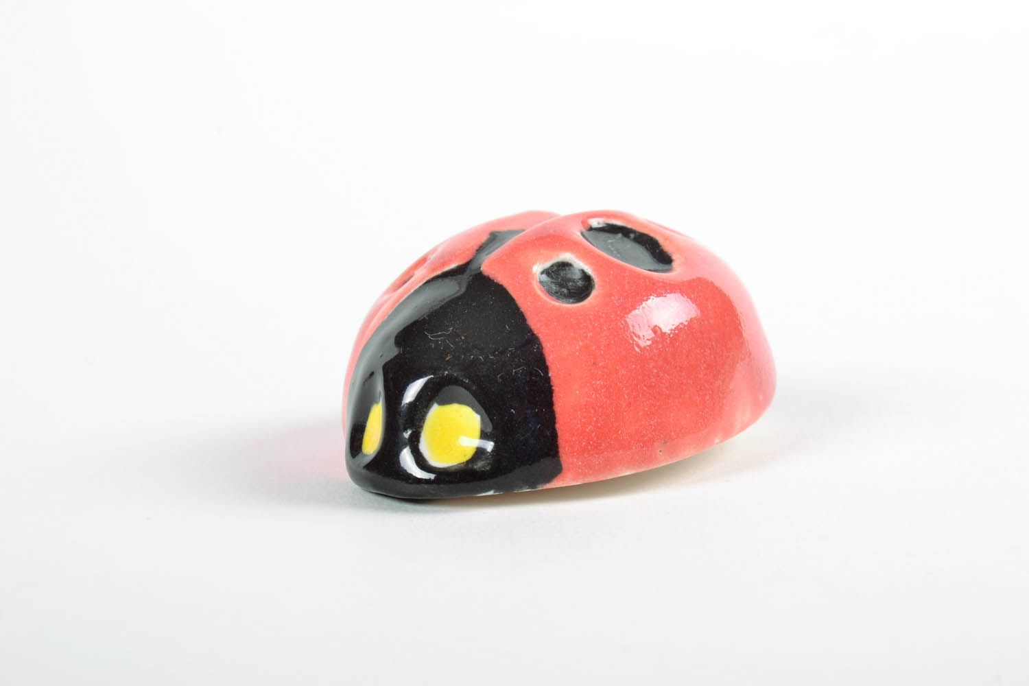 Fridge magnet in the form of a ladybug photo 4