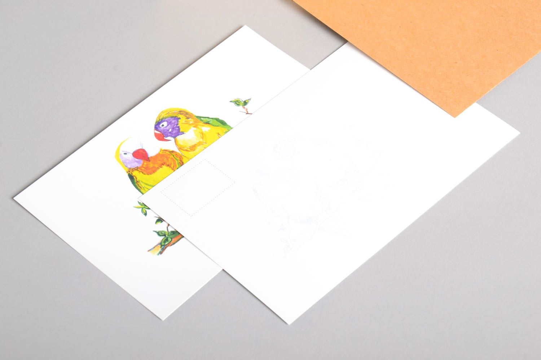 Handmade greeting cards birthday cards designer postcards modern painting photo 3