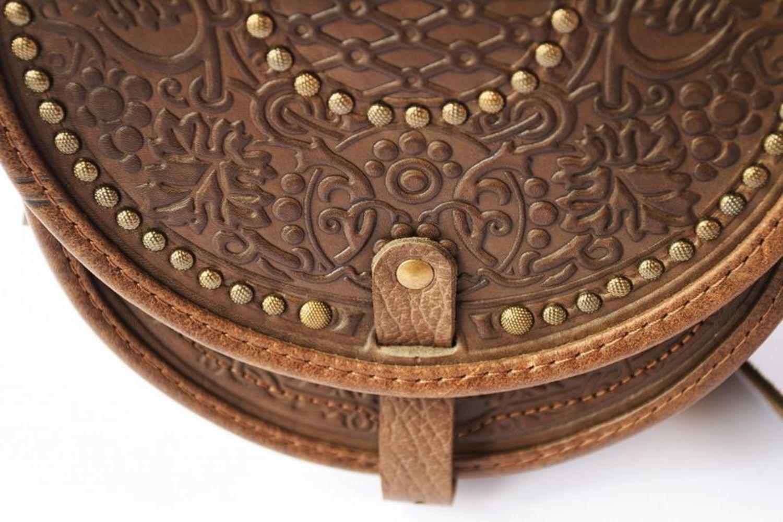 sacs Femme Sac en bandoulière cuir naturel - MADEheart.com