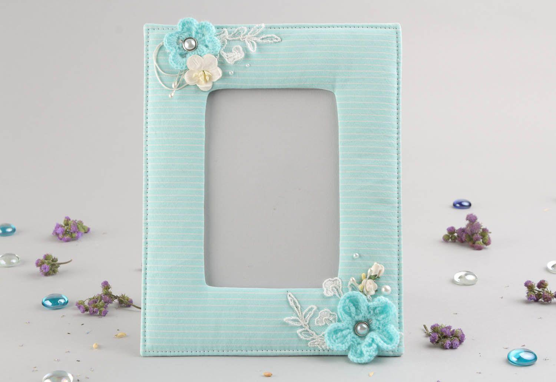 Blue photo frame photo 1