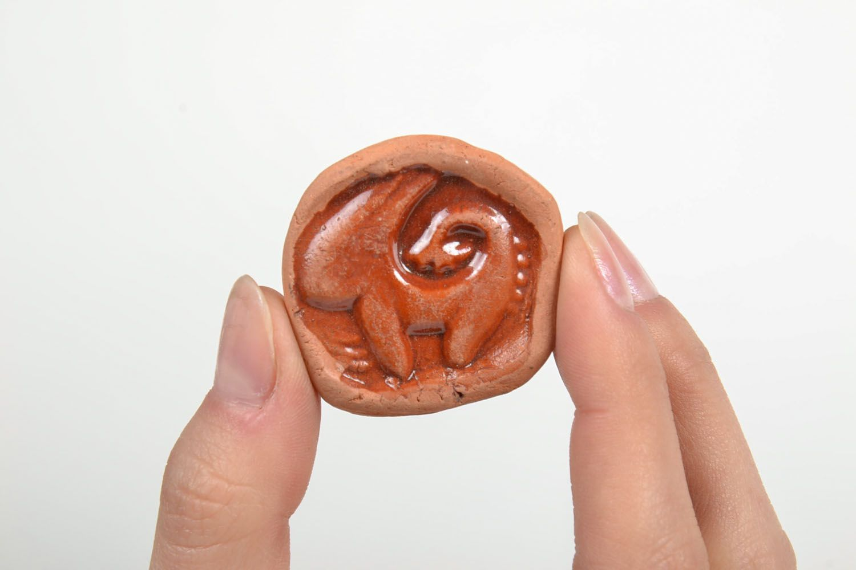 Ceramic fridge magnet Capricorn photo 5