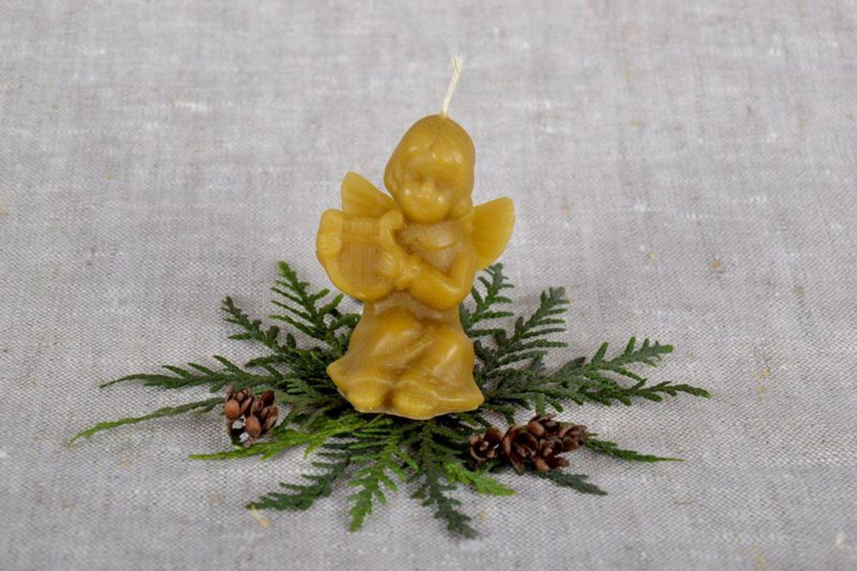 Holiday candle photo 1