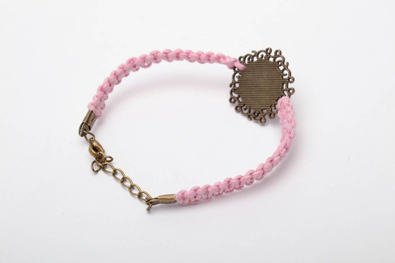 Tender vintage woven bracelet photo 4