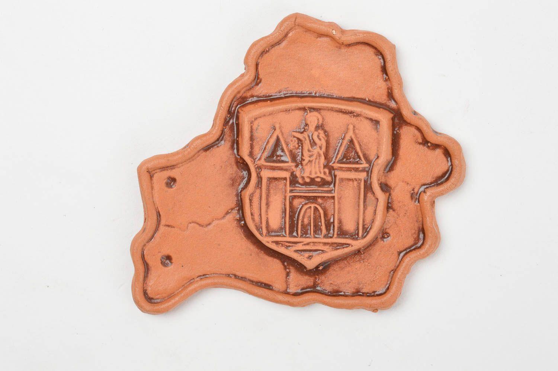 Beautiful homemade clay fridge magnet stylish ceramic magnet souvenir ideas photo 3
