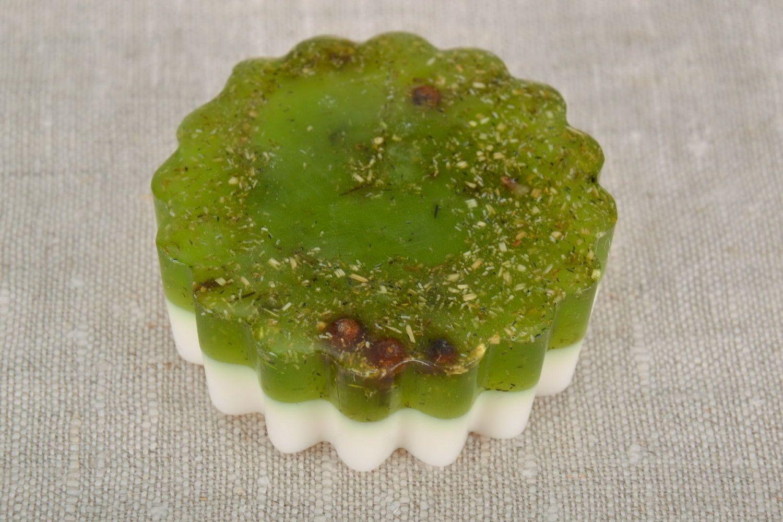 Soap with camomile tea photo 4