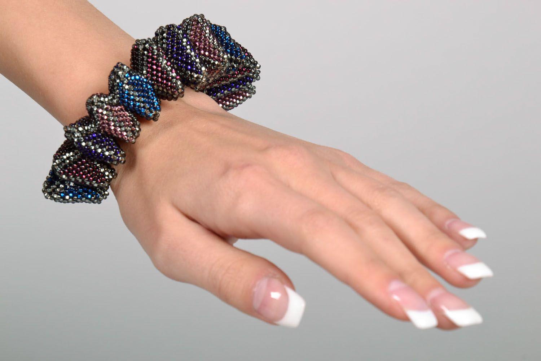 Unusual beaded bracelet photo 5