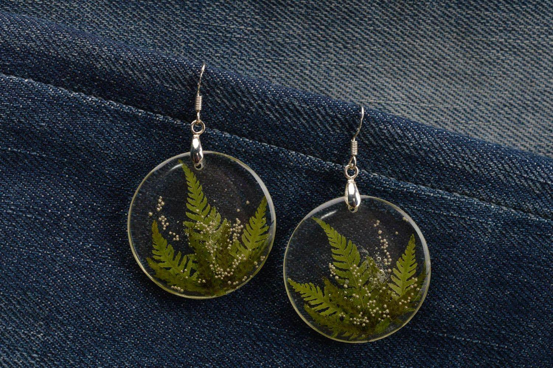 6cc28d1abe8e0a resin dry flower earrings Beautiful handmade epoxy earrings botanical  earrings beautiful jewellery - MADEheart.com