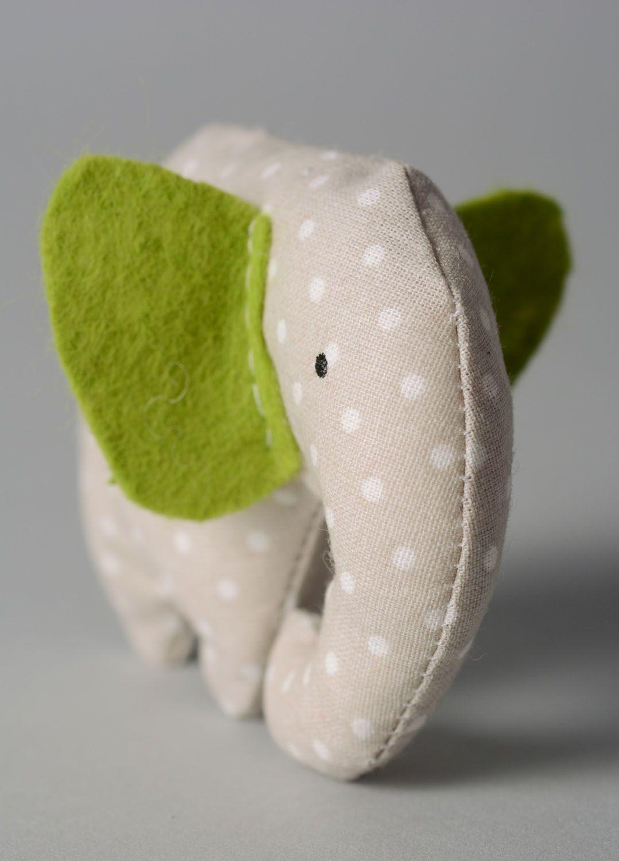Soft toy with mint Elephant photo 5