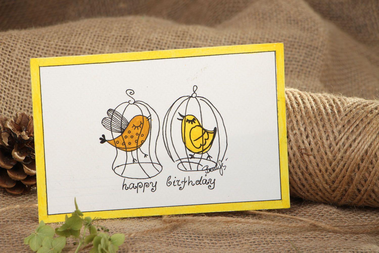 birthday Handmade greeting card