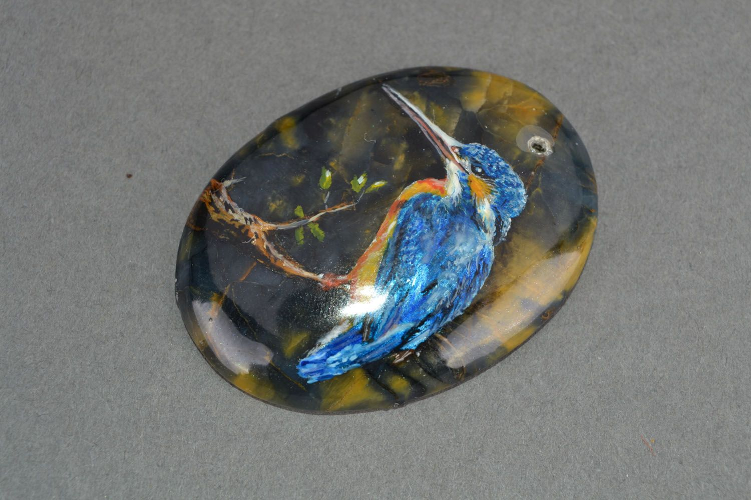 Pendant made of natural stone photo 3