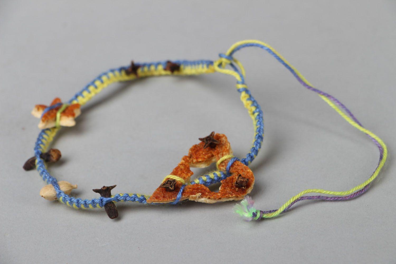 Thread bracelet Aroma photo 2