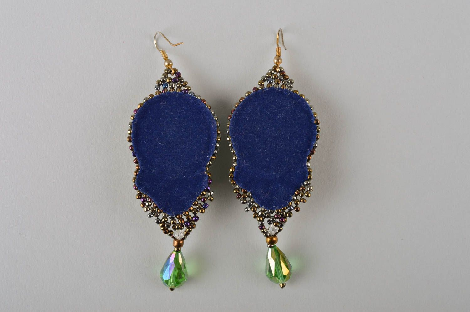 Unusual handmade beaded earrings costume jewelry designs fashion trends photo 5