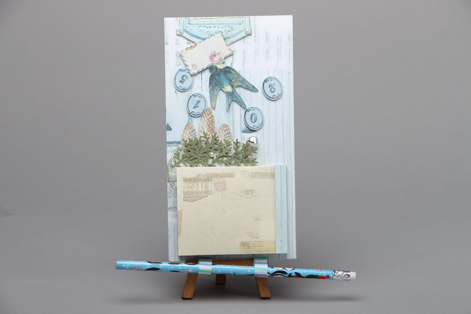 Magnet board with notebook photo 1