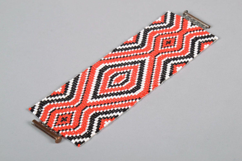 Модный браслет из бисера  фото 3