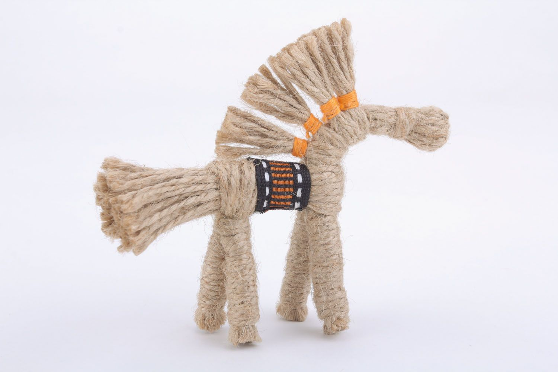 Ethnic woven toy photo 3